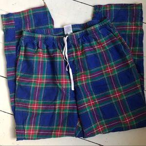 Vineyard Vines plaid flannel pajama pants